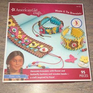NEW American Girl bracelet making Set